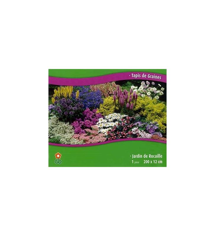 Tapis de graines : Jardin de rocaille | Graines Bocquet