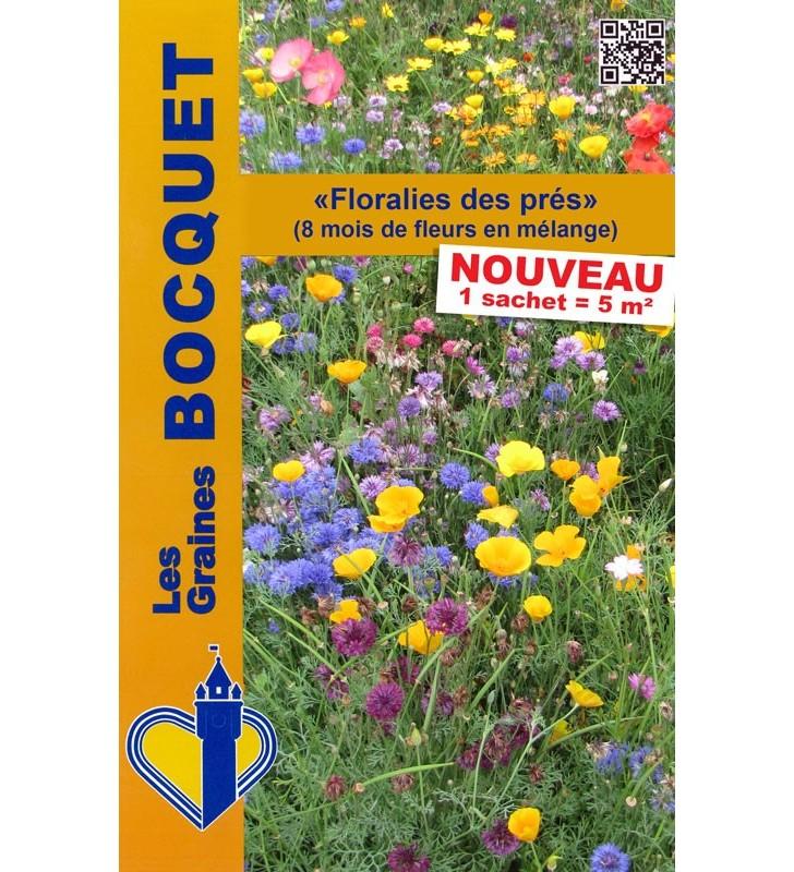 Mélange de graines de fleurs ''Floralies des près''