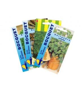 Lot de Légumes spécial Sauce (4 sachets de graines à semer)