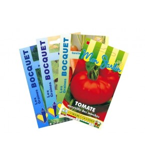 Lot de Légumes spécial Smoothie Orange (4 sachets de graines à semer)