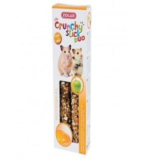Crunchy stick Hamsters Goût pomme et œuf