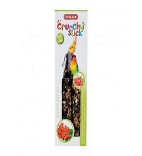 Crunchy stick Grandes Perruches Goût Groseille - Sorbier