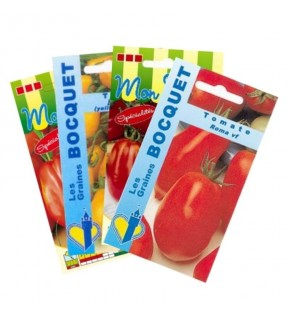 Lot de Tomates Allongées (4...