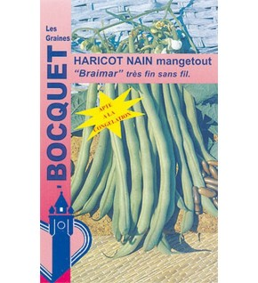 Haricot nain à filet Braimar 80g