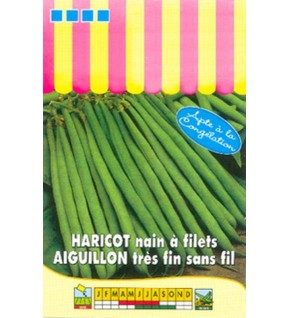 Haricot nain à filet Aiguillon - 100g