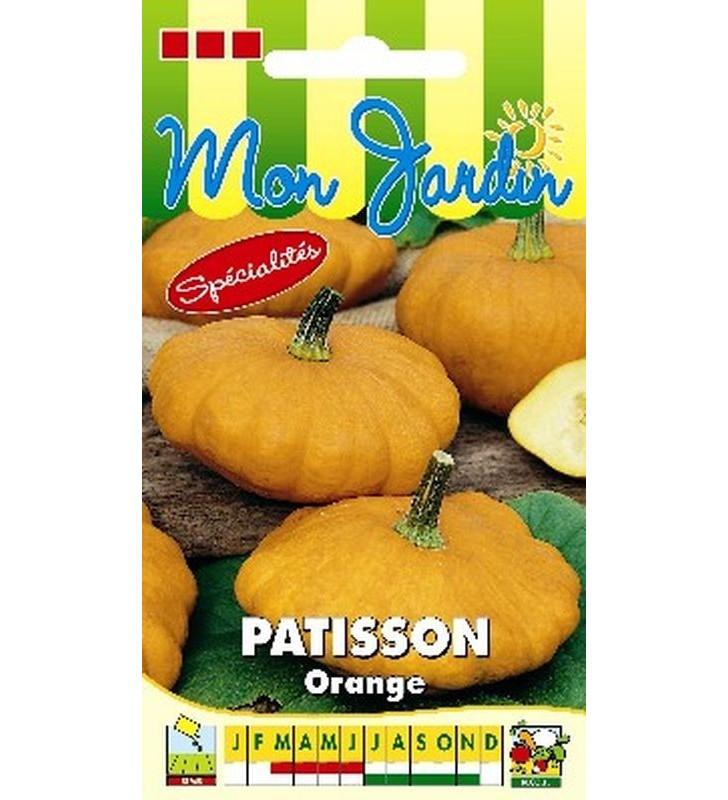 Courge Pâtisson orange
