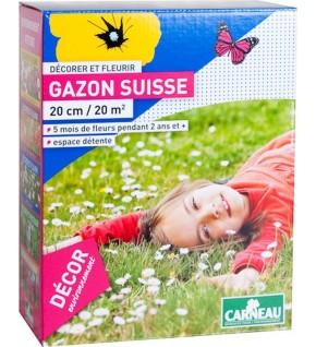 Gazon suisse 501g pour 20m2