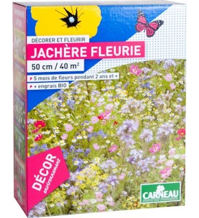 Fleurs pour jachère fleurie 520g pour 40 m2