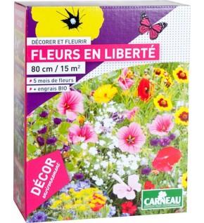 Fleurs en liberté 520g pour 15 m2