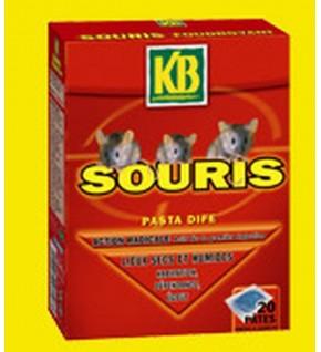 Pâtes pour souris Etui de 20x10g