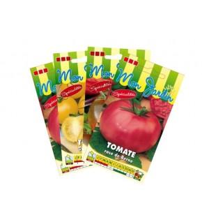 Lot de Tomates colorées (4 sachets de graines à semer)