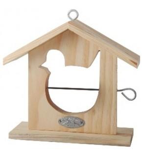 Maison à pomme pour oiseaux forme OISEAU
